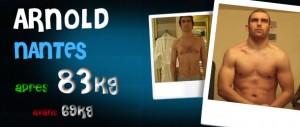 Avant-Après et avis sur les stéroïdes cure de testosterone: Arnold - Nantes