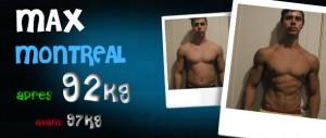 Avant-Après et avis sur les stéroïdes cure de testosterone: Max - Montreal